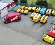 Největší půjčovna diesel kompresorů