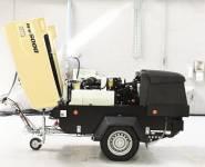 Doosan pojízdný diesel kompresor