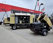 DOOSAN pojízdné diesel kompresory
