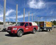 Půjčovna elektrocentrál Atlas Copco