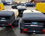 Pojízdné kompresory Doosan_prodej kompresorů