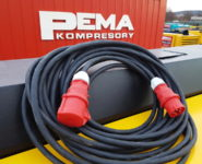 Půjčovna elektrocentrál_kabely_Kompresory PEMA