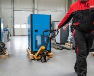 Servis kompresorů, sušících jednotek, filtračních jednotek