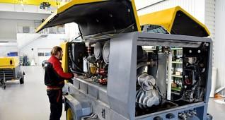 servis kompresorů - pojízdné diesel