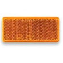 Oranžová odrazka obdelník