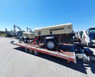 pojízdné kompresory Doosan