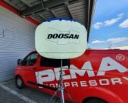 půjčovna osvětlovacích balónů Doosan_BL_400_LED2