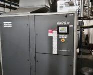 servis průmyslových kompresorů
