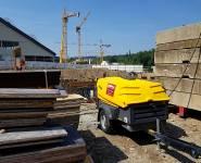 stavební kompresor Atlas Copco půjčovna