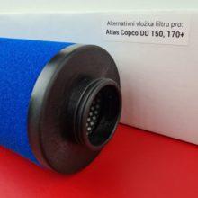 Alternativní filtr Atlas Copco DD 150, 170+