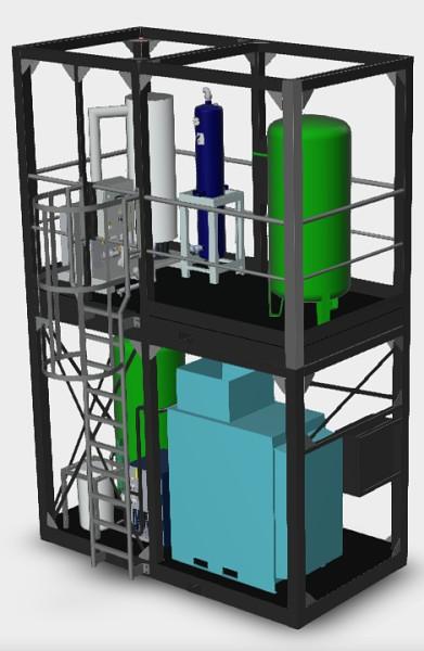 Projekt kontejnerové kompresorové stanice
