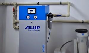 adsorpční sušičky vzduchu Alup - Pneumatech