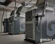 kompresorová stanice s filtry stlačeného vzduchu Atlas Copco