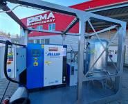 kontejnerová kompresorová stanice Alup