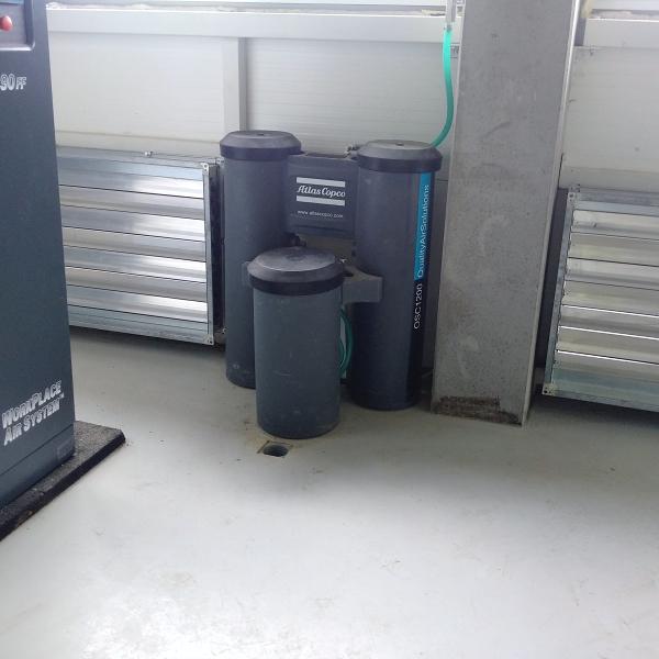 Separátory kondenzátu olej/voda