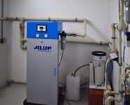 sušicí jednotka a filtrace vzduchu Alup