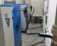 úprava vzduchu, separátor olej voda