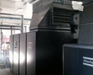 kompresor Atlas Copco s přímým pohonem