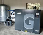 outsourcing kompresorové stanice Atlas Copco
