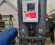 servis sušicí jednotky Atlas Copco CD 100